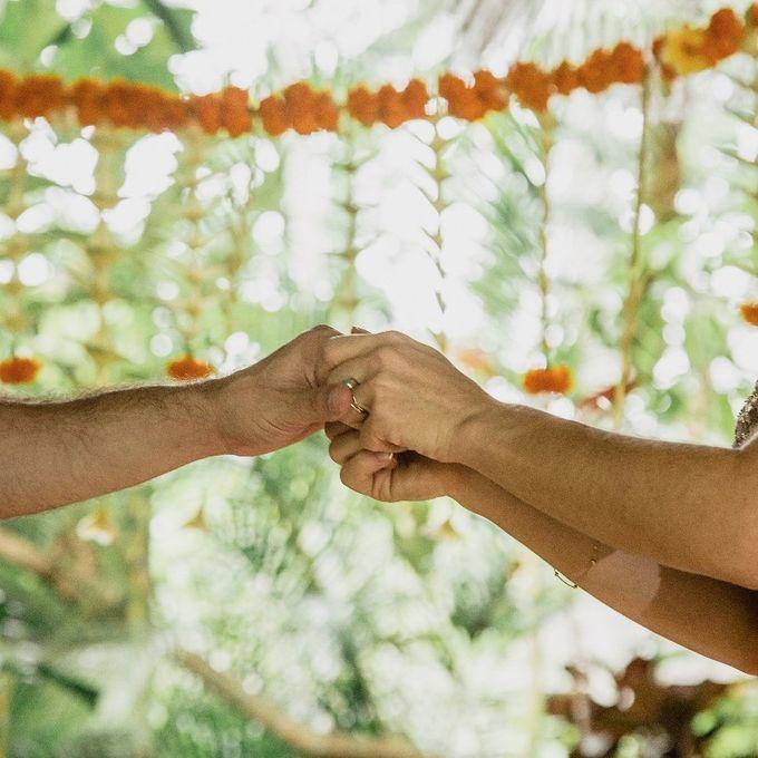 Simple Wedding In Ubud by Flo Wedding Organizer - 004