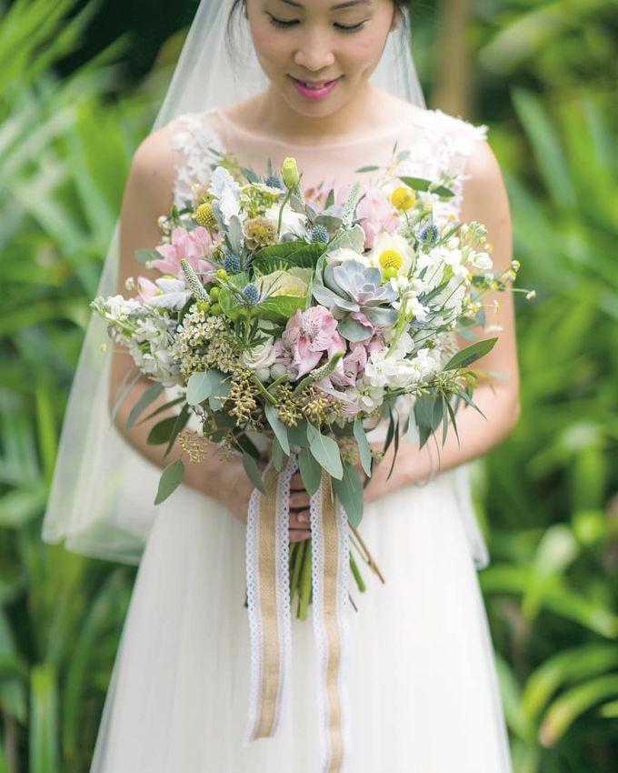 Bridal Bouquets by Ever & Blue Floral Design - 037