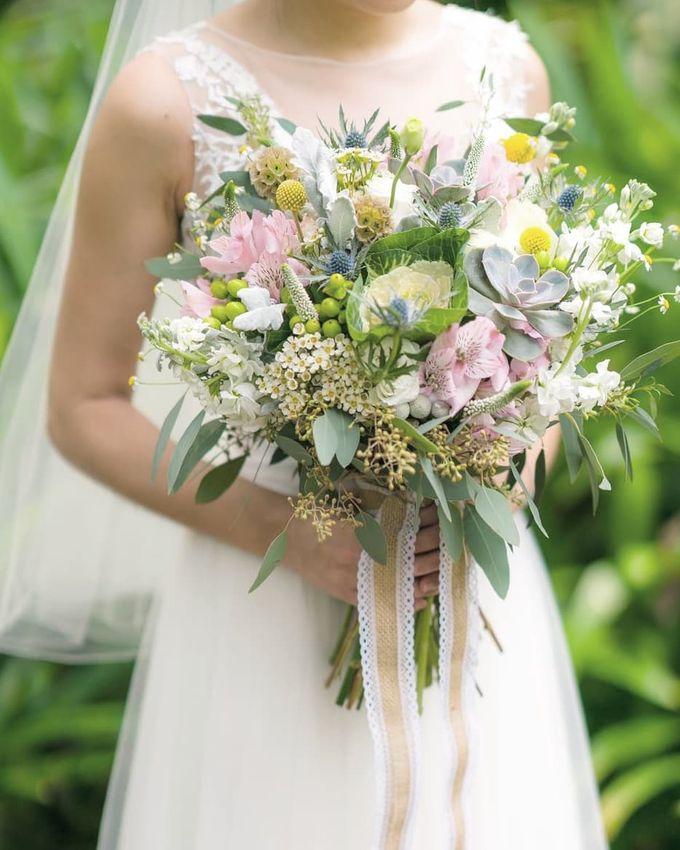 Bridal Bouquets by Ever & Blue Floral Design - 038