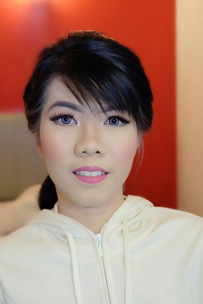 Makeup Bridesmaid by VidJei Makeup - 017