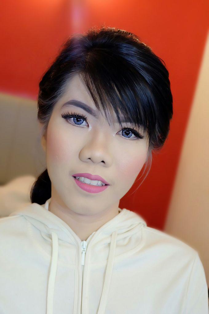 Makeup Bridesmaid by VidJei Makeup - 015