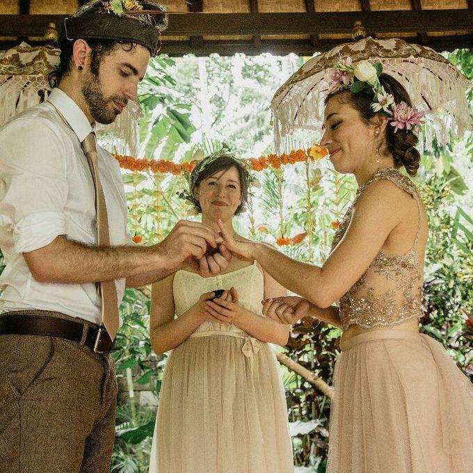 Simple Wedding In Ubud by Flo Wedding Organizer - 003