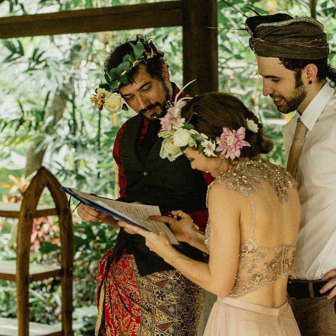 Simple Wedding In Ubud by Flo Wedding Organizer - 002