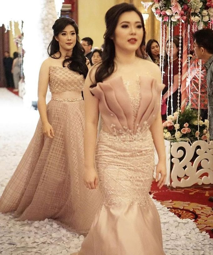 Mom  and sister gown by SAVORENT Gown Rental - 009