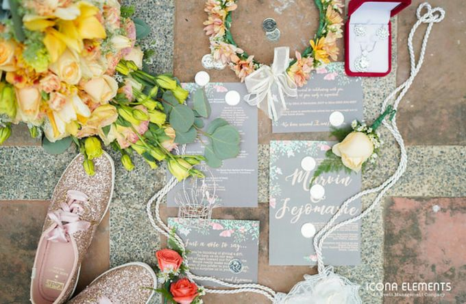Peach Wedding - Marvin & Jejomarie 1.8.2018 by Icona Elements Inc. ( an Events Company, Wedding Planning & Photography ) - 001