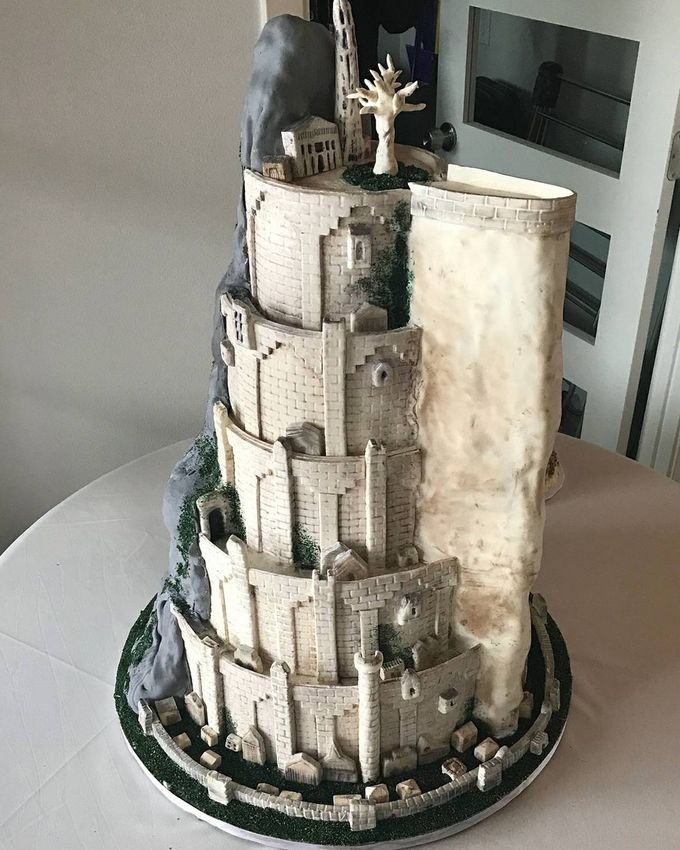 Wedding and Grooms' Cakes by Cakes ROCK!!! - 002