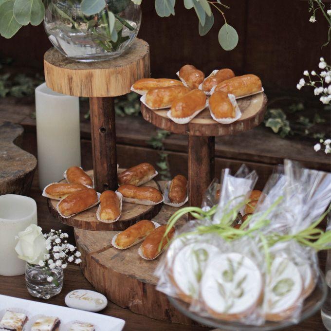 Rustic Dessert Table by Gordon Blue Cake - 009