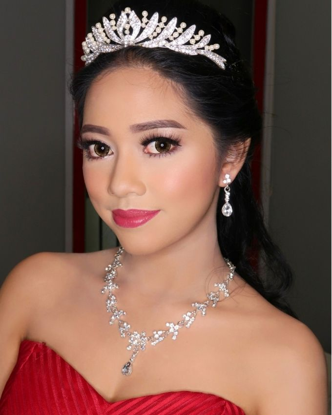 Sweet 17th Make up & Hair do by MarisaFe MUA - 002