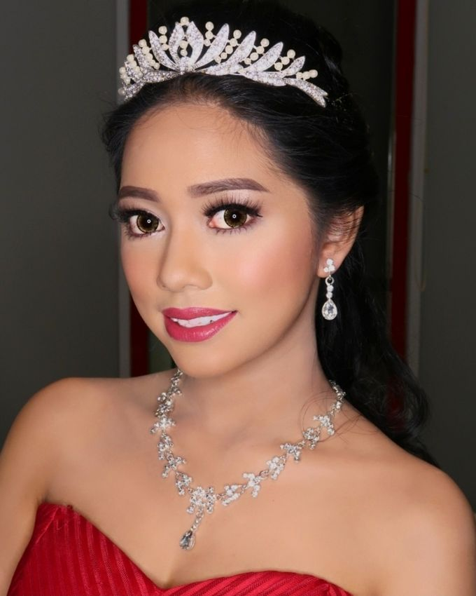 Sweet 17th Make up & Hair do by MarisaFe MUA - 001