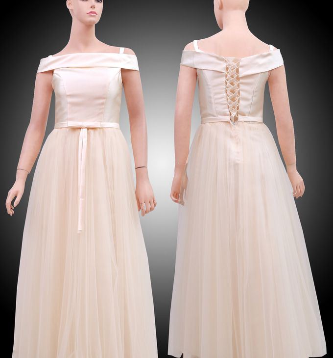 Bridesmaid Dress Disewakan by Sewa Gaun Pesta - 004