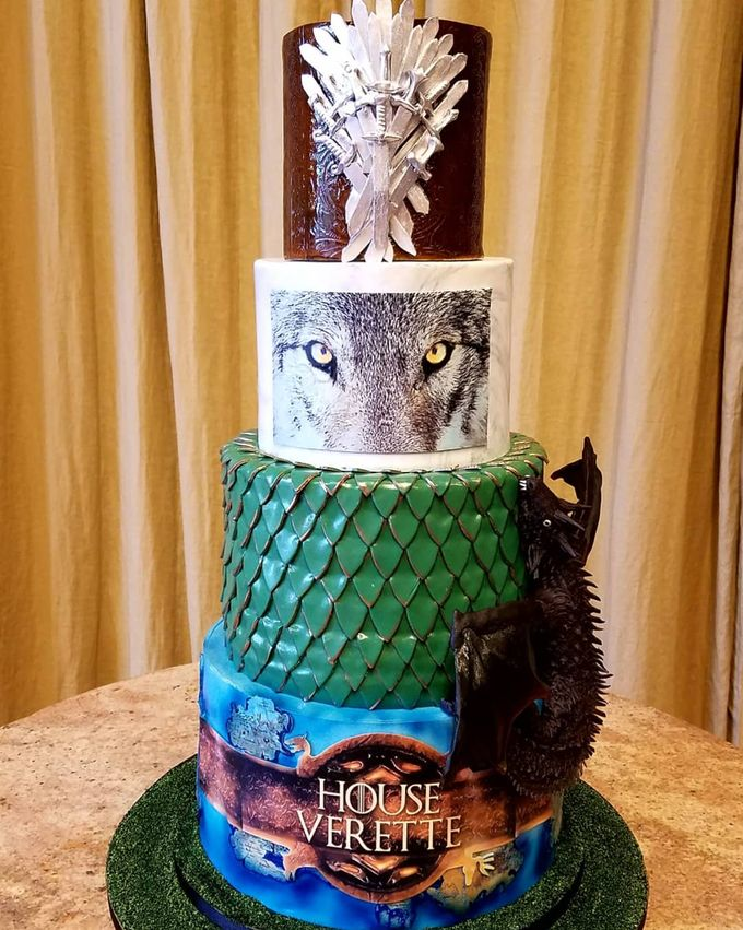 Wedding and Grooms' Cakes by Cakes ROCK!!! - 003