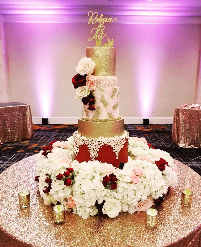 Wedding and Grooms' Cakes by Cakes ROCK!!! - 009