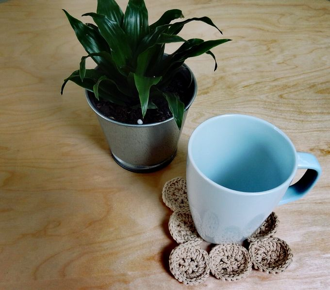 Chic Coaster by Coco's Knit - 008