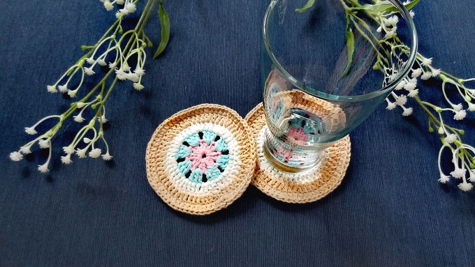 Chic Coaster by Coco's Knit - 012
