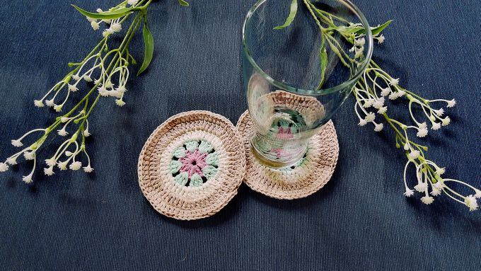 Chic Coaster by Coco's Knit - 003