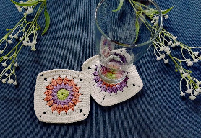 Chic Coaster by Coco's Knit - 007