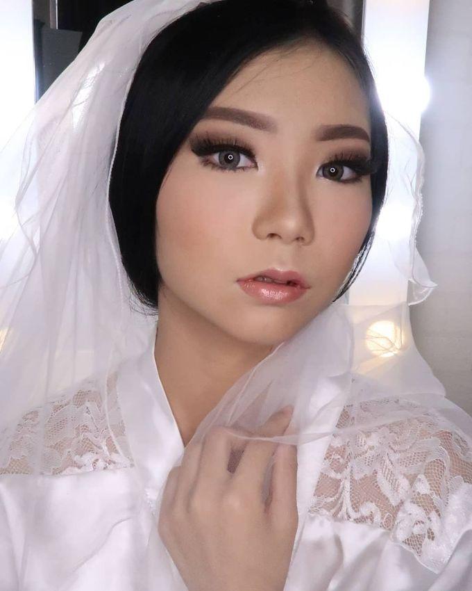 Linda (Wedding Airbrush Makeup - Monolid) by MarisaFe MUA - 001
