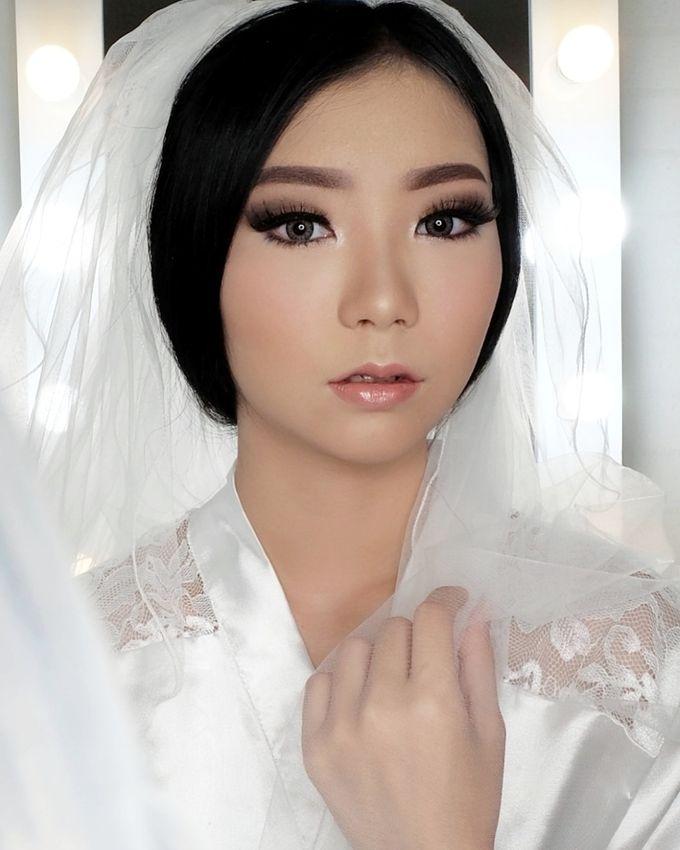 Linda (Wedding Airbrush Makeup - Monolid) by MarisaFe Bridal - 003