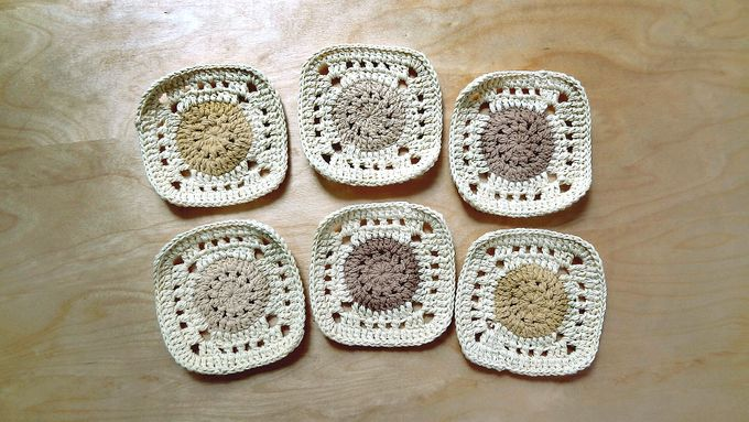 Chic Coaster by Coco's Knit - 024