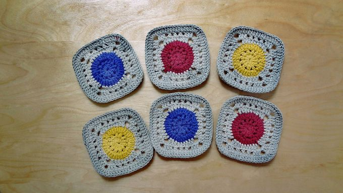 Chic Coaster by Coco's Knit - 019