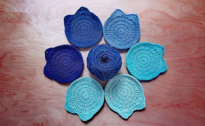 Chic Coaster by Coco's Knit - 017