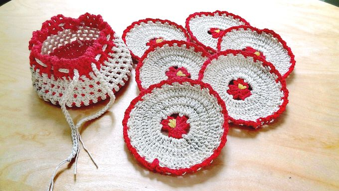 Chic Coaster by Coco's Knit - 020
