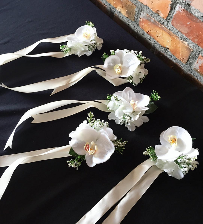 Corsage/boutonniere by Florist By HaejaBudiman - 004