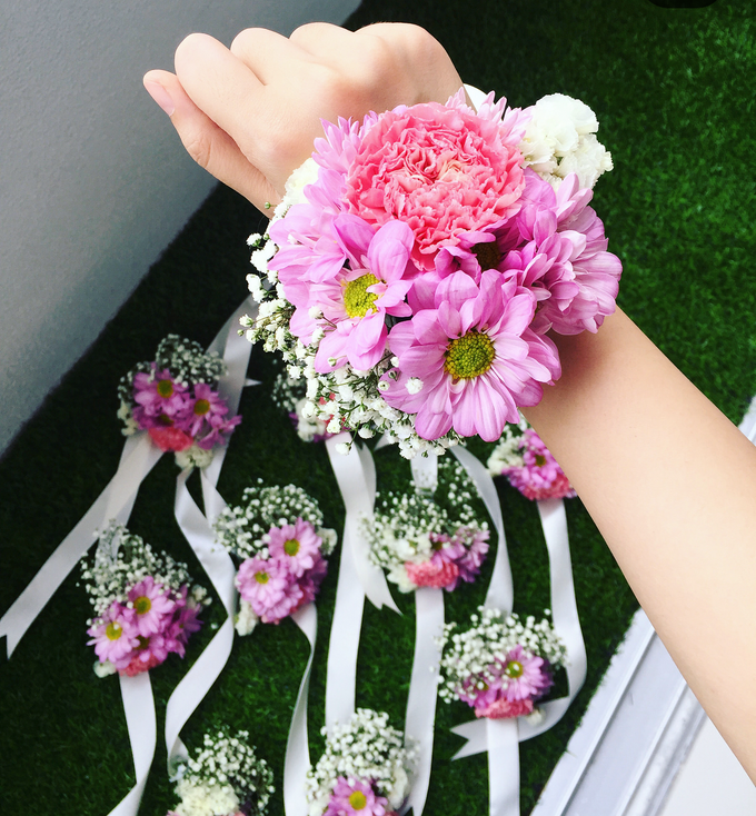 Corsage/boutonniere by Florist By HaejaBudiman - 008
