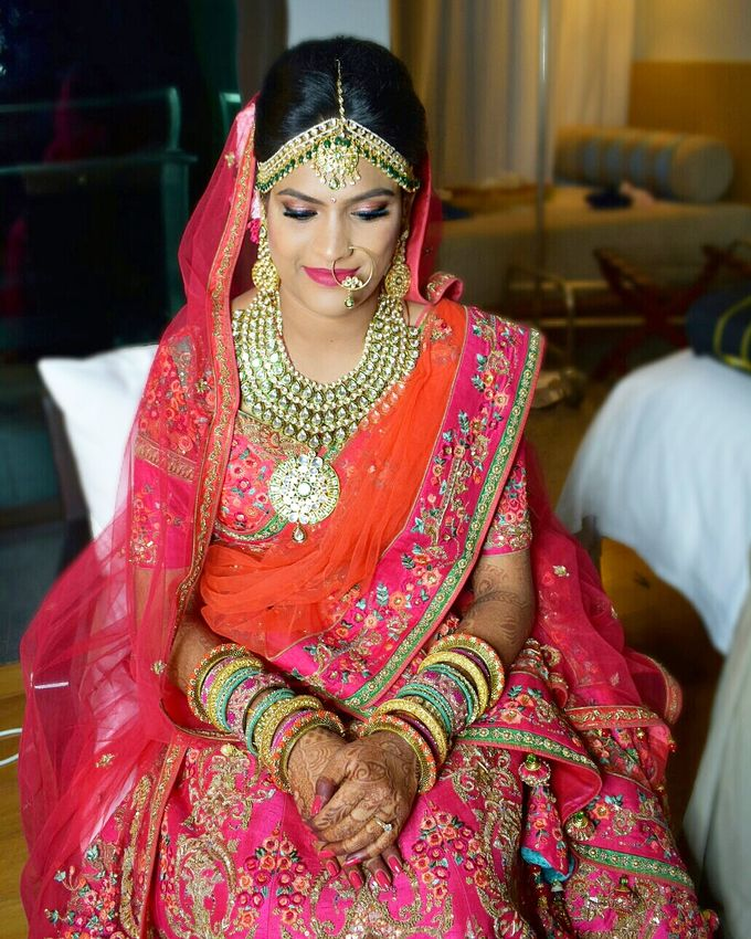 Bridal Makeup by Makeup by Lavina - 025