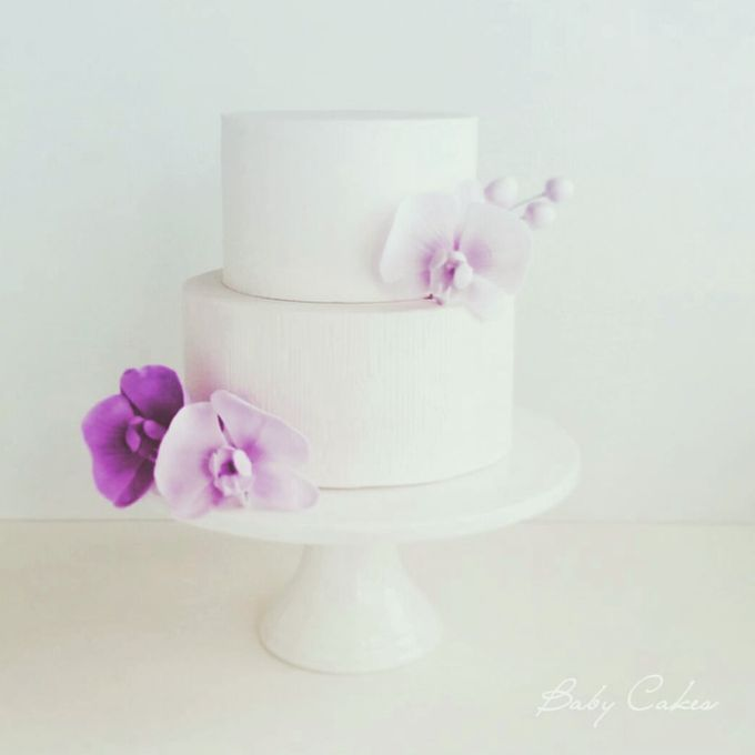 Single tier and multi tiered cakes by Baby Cakes - 046