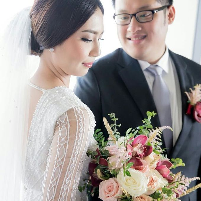 The Wedding of Ms. Michelle by Tiffany's Flower Room - 003