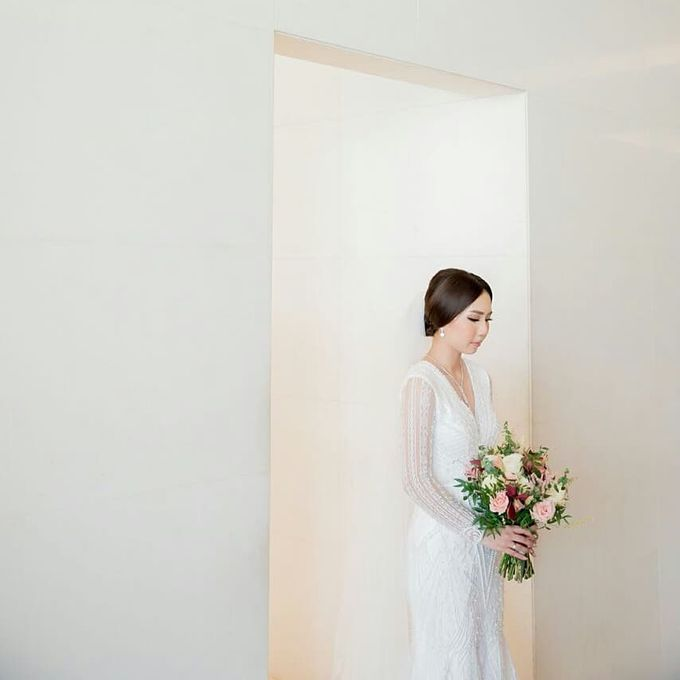 The Wedding of Ms. Michelle by Tiffany's Flower Room - 007