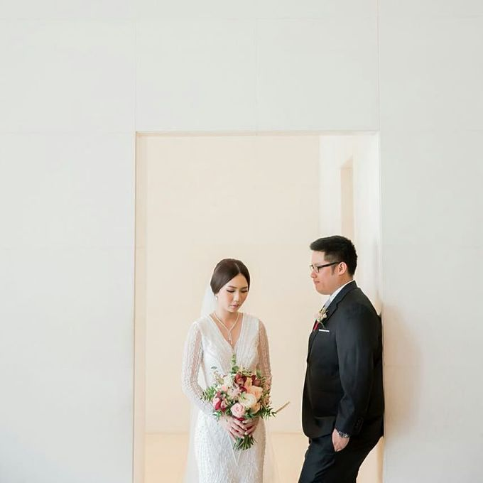 The Wedding of Ms. Michelle by Tiffany's Flower Room - 006