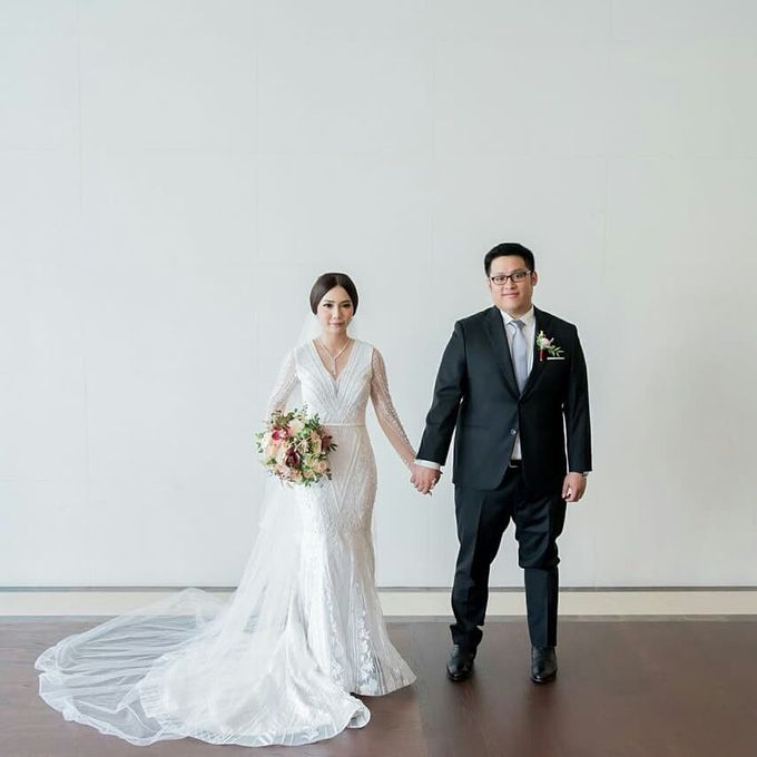 The Wedding of Ms. Michelle by Tiffany's Flower Room - 005