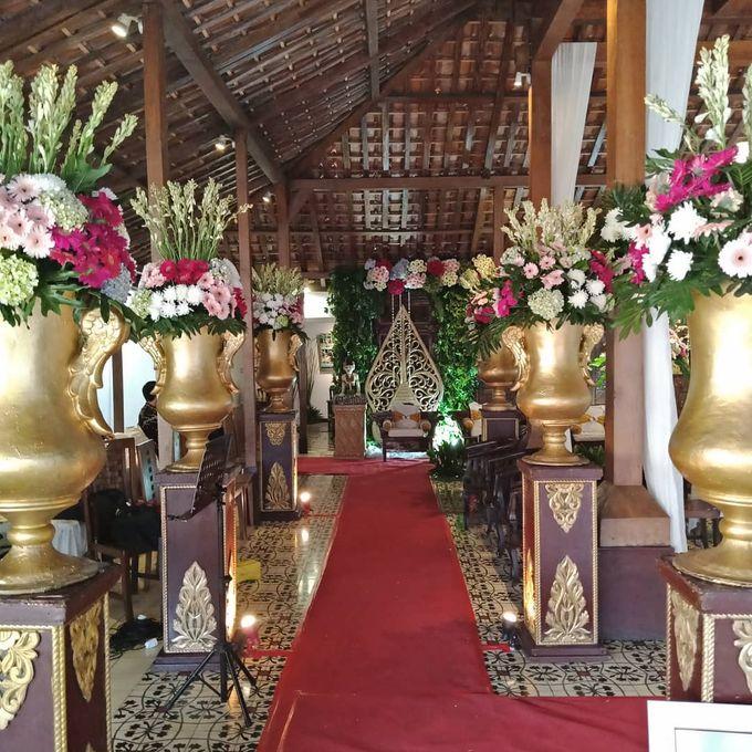 Dekorasi Pelaminan Adat Jawa By Aorora Catering Wo