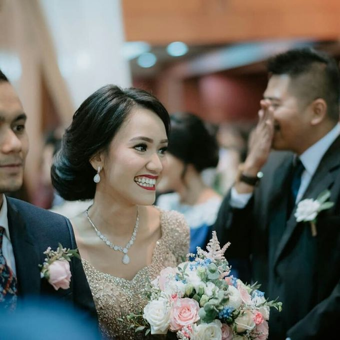 The Wedding of Ms. A by Tiffany's Flower Room - 003