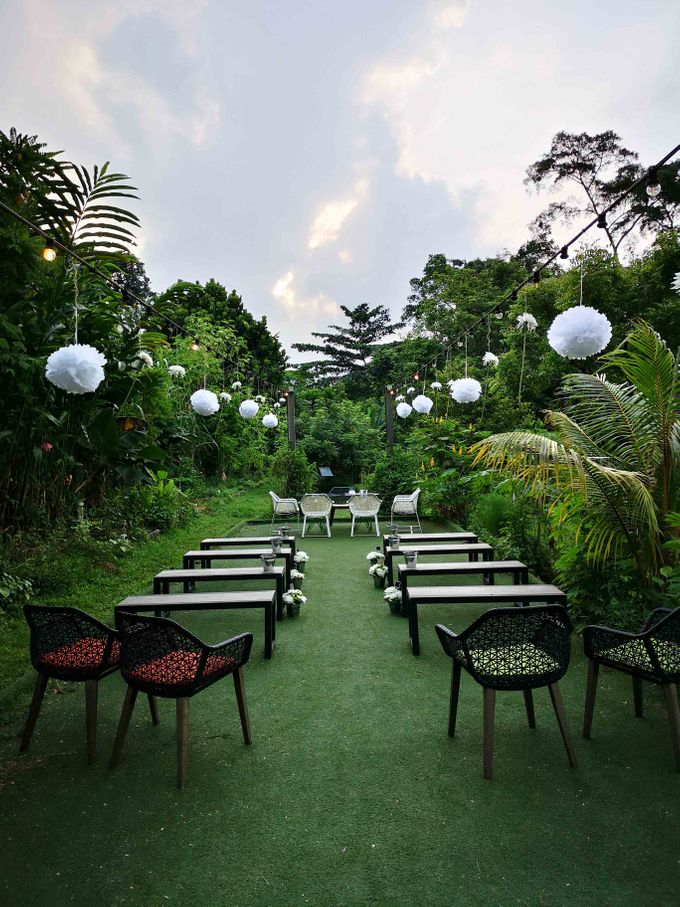 Cozy Outdoor Wedding Ceremony and Dinner by Te Planner - 001