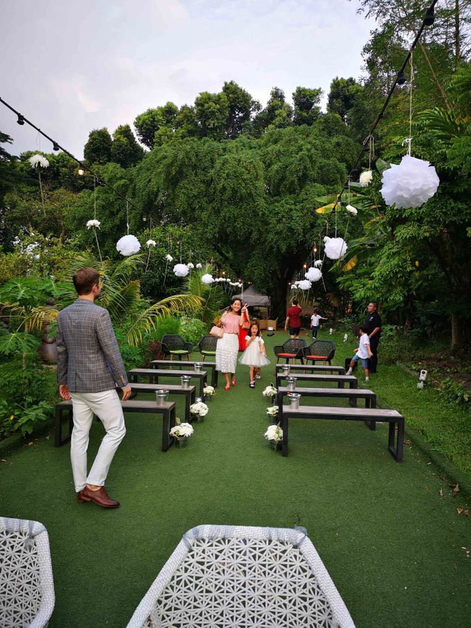 Cozy Outdoor Wedding Ceremony and Dinner by Te Planner - 003