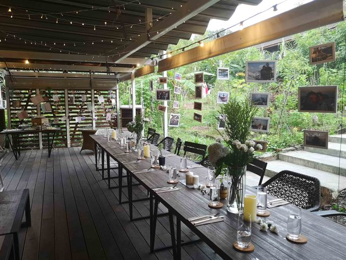 Cozy Outdoor Wedding Ceremony and Dinner by Te Planner - 010