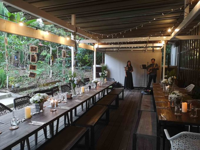 Cozy Outdoor Wedding Ceremony and Dinner by Te Planner - 012