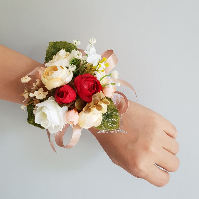 Wristband Flower Corsage by Belfiore Florist - 002