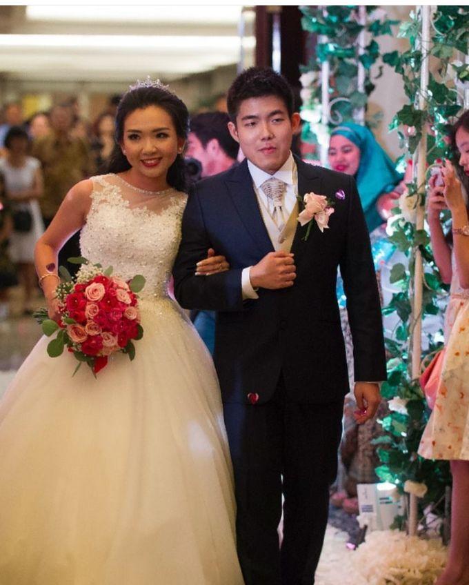 The Wedding Of Alvin & Angelia by Le Grandeur Mangga Dua Hotel - 002