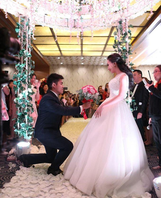 The Wedding Of Alvin & Angelia by Le Grandeur Mangga Dua Hotel - 005