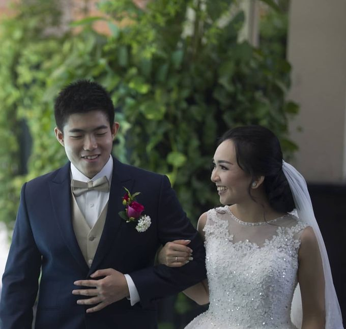 The Wedding Of Alvin & Angelia by Le Grandeur Mangga Dua Hotel - 001