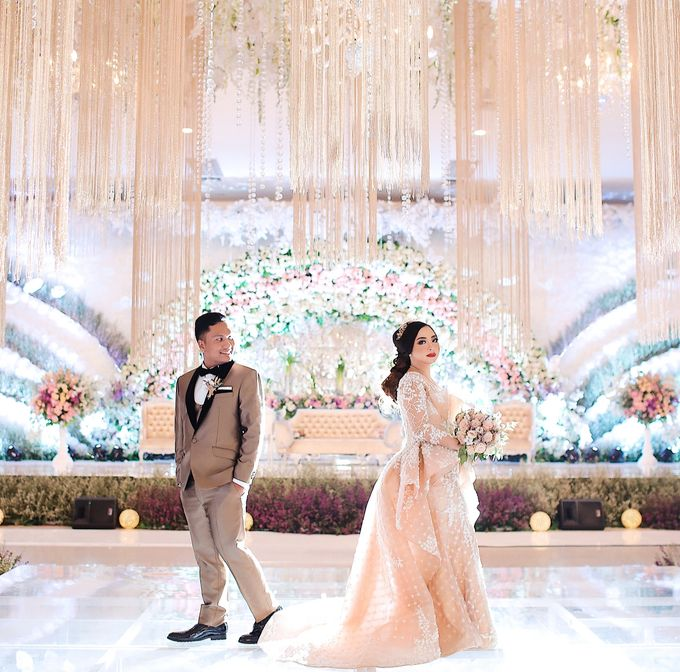 The Wedding Of Anje + Abel by Meltiq Invitation - 010