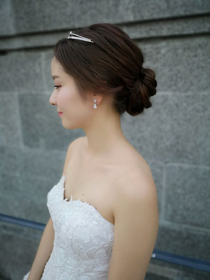 Bride Emi ❤️ by Shino Makeup & Hairstyling - 005