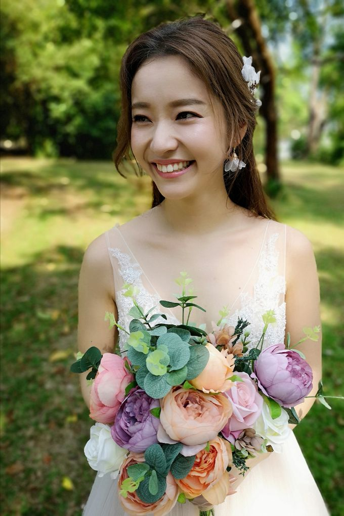 Bride Emi ❤️ by Shino Makeup & Hairstyling - 002