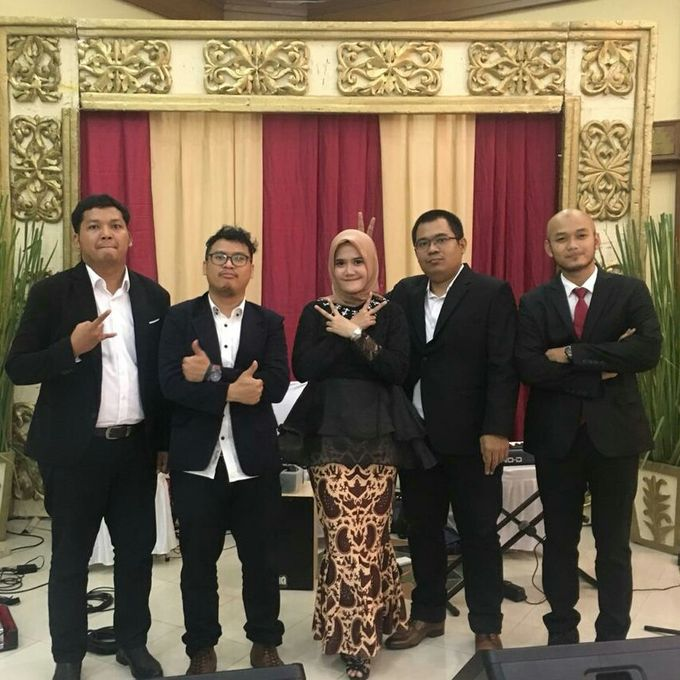 Prilly & Wishal Wedding Ceremony by 1548 band - 006