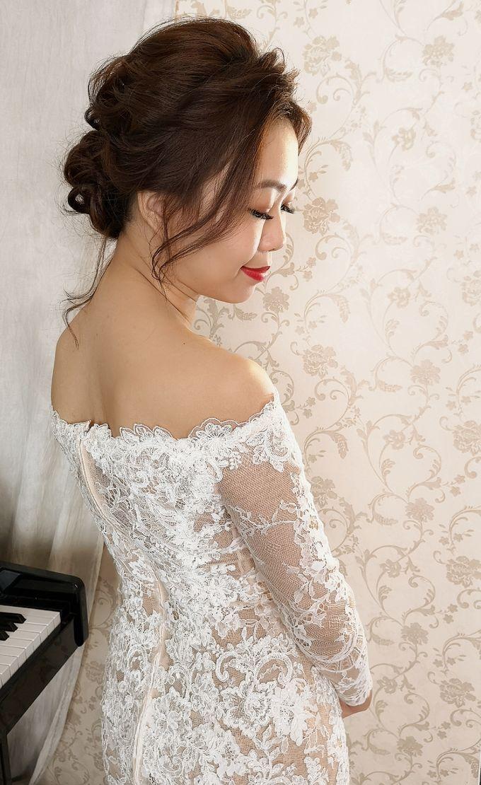 Bride Kyra ❤️ by Shino Makeup & Hairstyling - 002