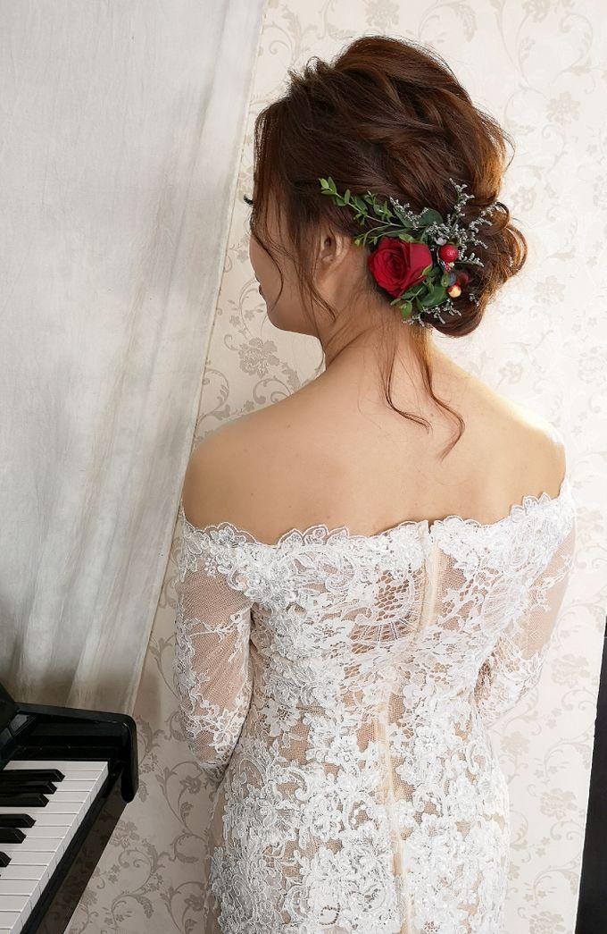 Bride Kyra ❤️ by Shino Makeup & Hairstyling - 003